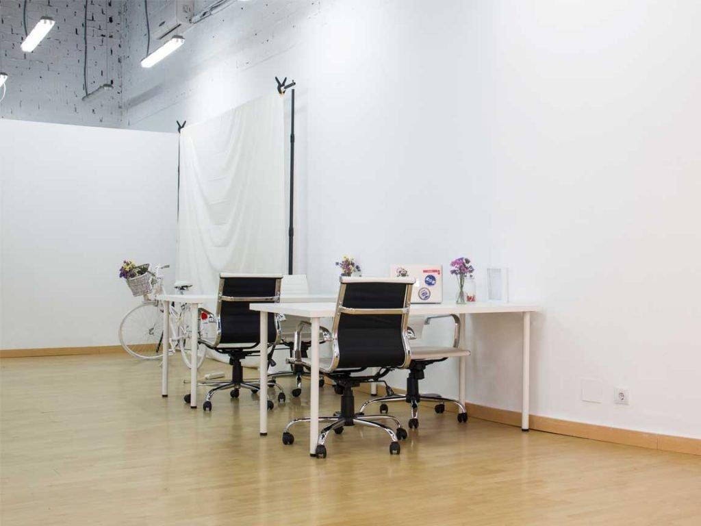 Alquiler de estudio fotográfico y de video en Málaga