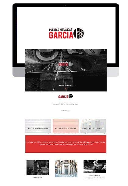 Logotipo y web Málaga