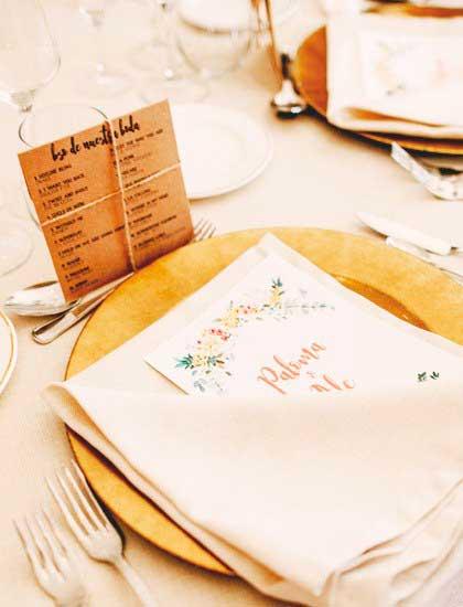 Invitaciones y papelería de boda